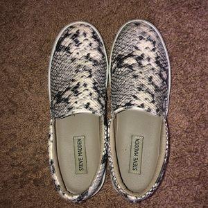 Steve Madden Snakeskin Sneakers!